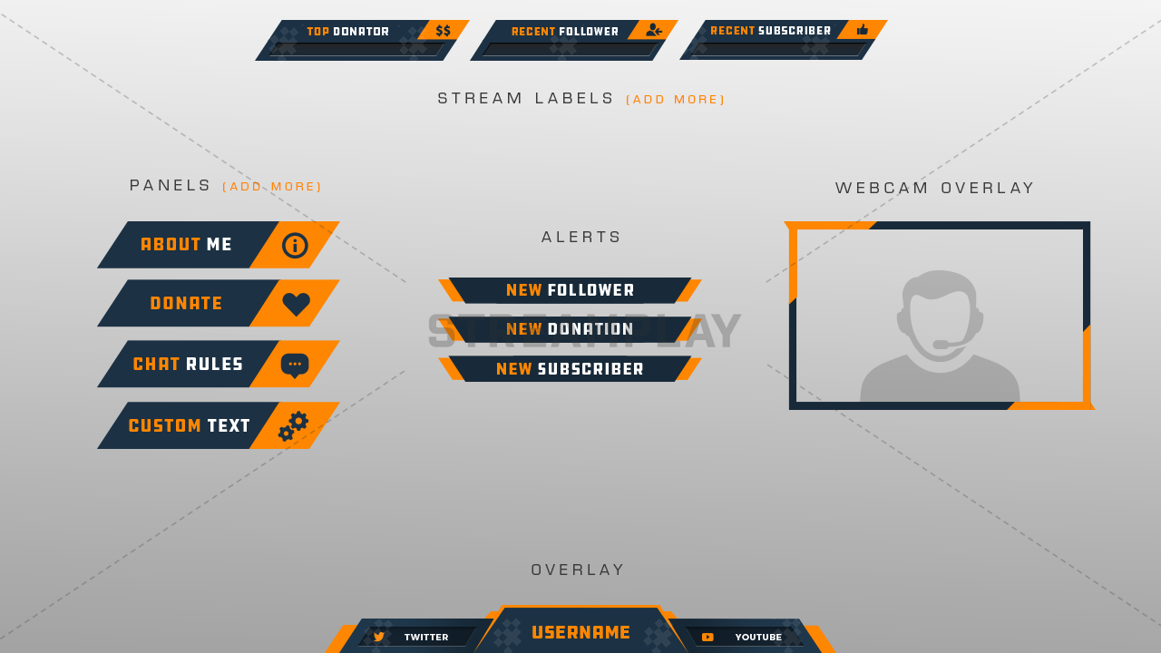 twitch graphics package